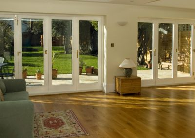 Accoya timber bifold doors Kingston upon Thames