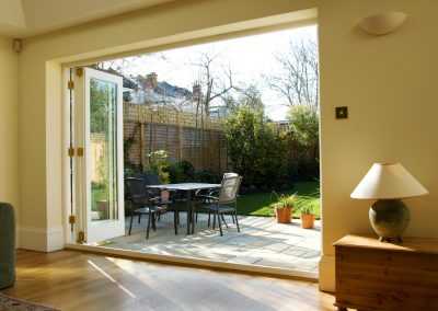 Bring the outside in with new timber bifold doors made from Accoya timber
