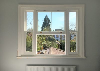Triple box sash windows Surrey